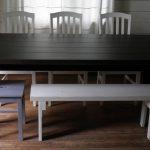 sorvattujalkainen-puinen-lankkupöytä